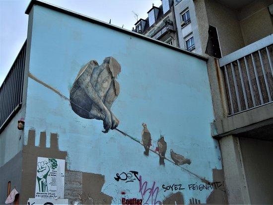 Fresque Sur Le Fil
