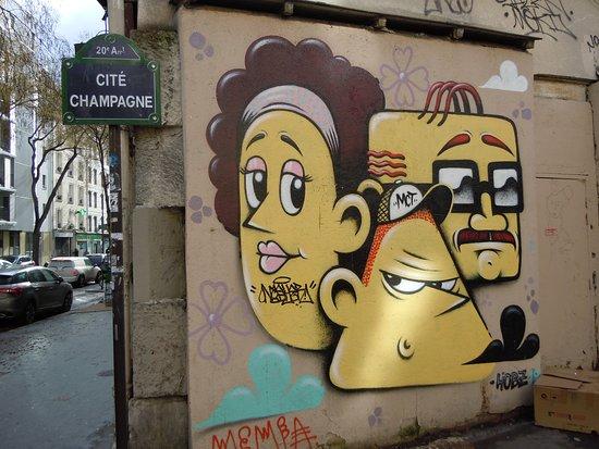 Fresque Triptyque 3-1 Le Trio