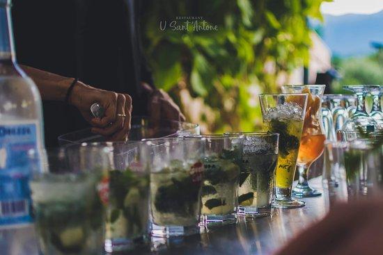 U Sant'Antone: Bar à cocktails sur la plage