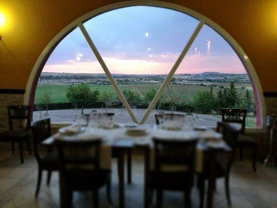 Don Alvaro, สเปน: Ventanal del restaurante