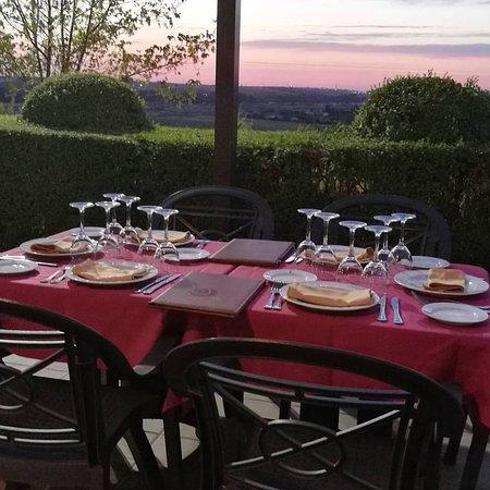 Don Alvaro, สเปน: Vistas terraza restaurante