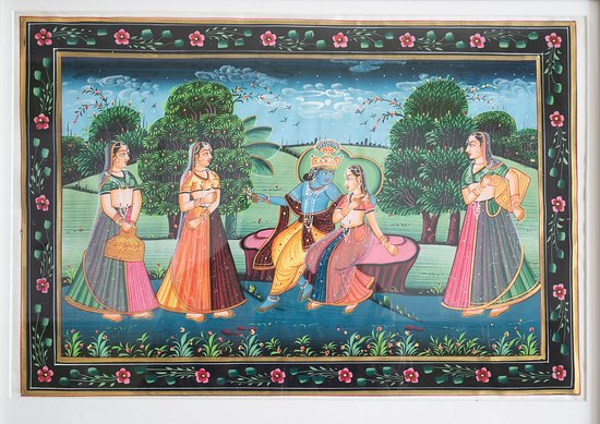 Bundi Paintings : Artist Gopal