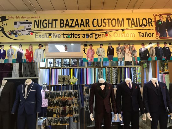 Night Bazaar Custom Tailor