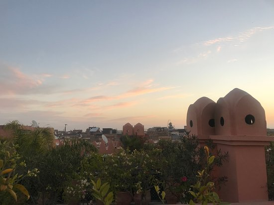 View from rooftop