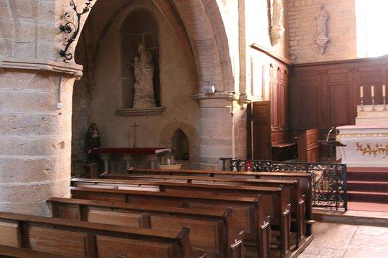 Fixin, Ranska: Vue intérieure de cette église