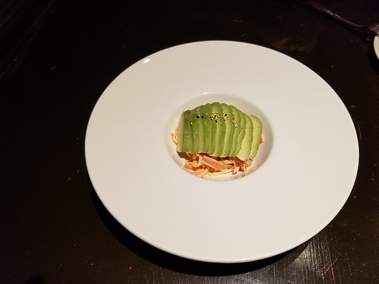 Pikesville, MD: Special order avacado with spicy kani (imitation crab)