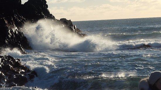 Hellnar, Islandia: the beach with heavy wave