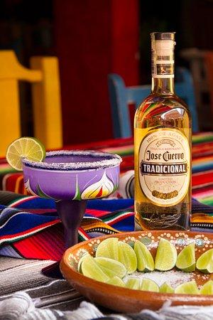Tequila Jose cuervo.