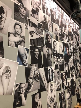 Wall Art, Tattoos are popular