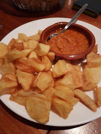 A hidden Spanish restaurant