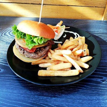 Burger suggestion.