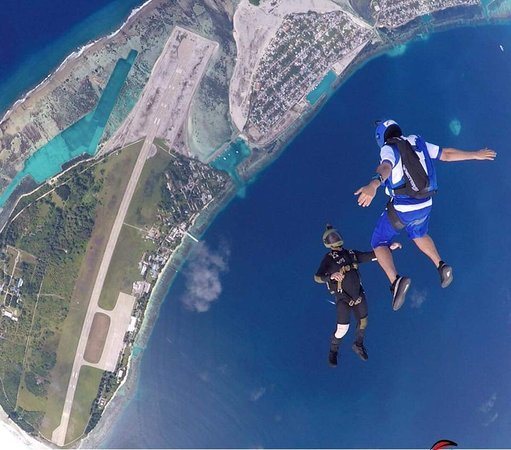 Addu Atoll: Tandem and Solo Skydiving in Maldives