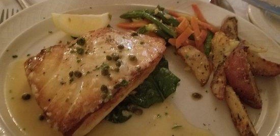 Chilean sea bass special delicious!