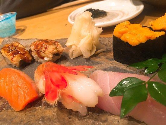 Ikina Sushidokoro Abe Roppongi: お寿司以外にも、旬な食材がたくさん!