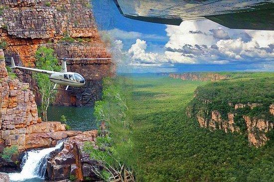 卡卡杜和凯瑟琳峡谷全日航空旅游,直升机和游轮
