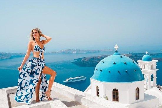 Tour Santorini com um fotógrafo...