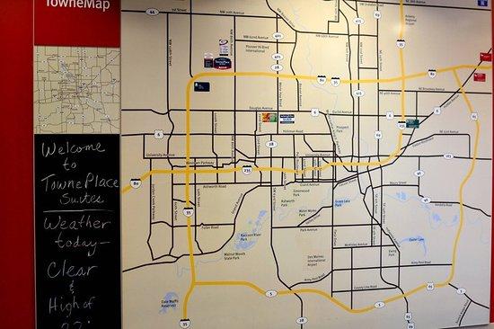 Johnston, IA: Map