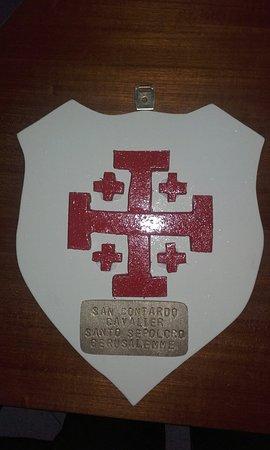 Broni, Italia: San Contardo cavaliere del Santo Sepolcro di Gerusalemme