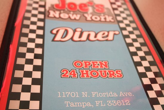 Joe's New York Diner: I was there for lunch but 24 hours is nice