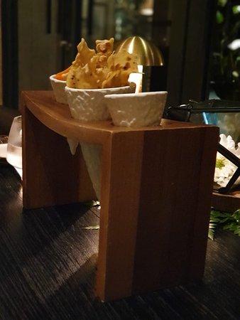 Dinner at Salon Bali, Indigo Hotel Seminyak. Cozy place, nice food, very tasty. Recommended restaurant.