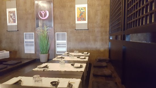 Youki Japanese Restaurant: interno
