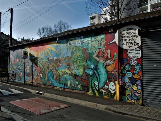 Fresque Trop de Murs
