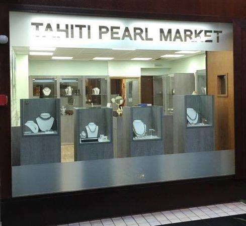 Арю, Французская Полинезия: Tahiti Pearl Market au Tahiti Pearl Beach