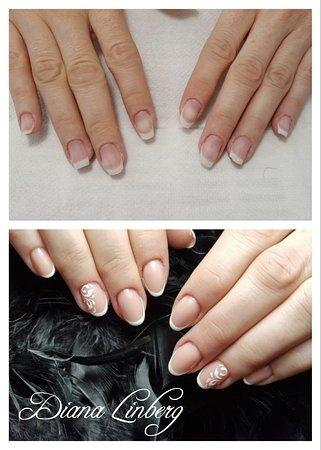 spesso Rinforzo unghie naturali con gel, French e nail art. - Picture of EL56