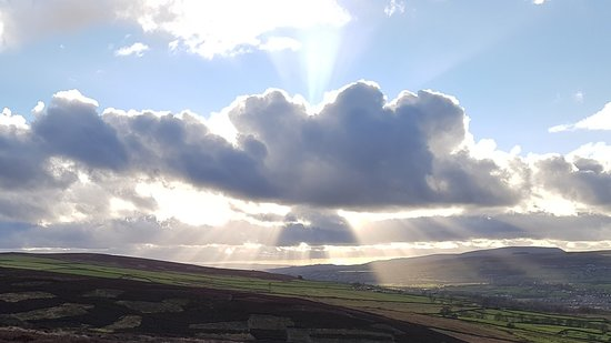 Around Embsay and Pinhaw hill. Beautiful place
