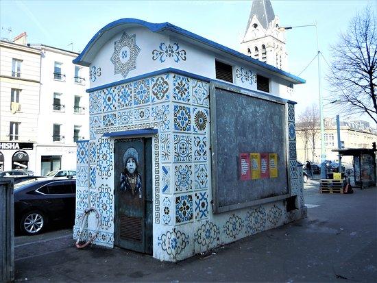 Fresque Tunisie dans la Ville