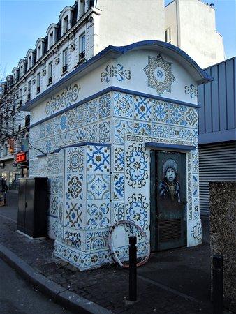 Saint-Denis, Francia: Détail du transformateur