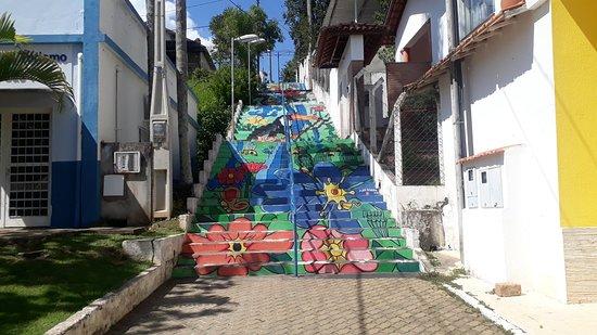 Escadaria Águas de São Pedro