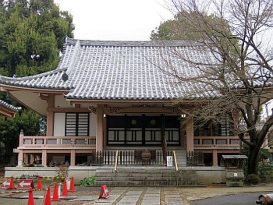 Nakano, Japan: 本堂の様子