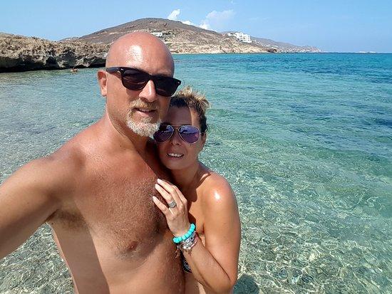 Ftelia Beach: Ftelia August 2018