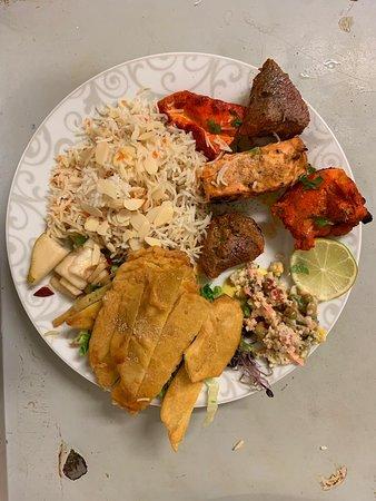 Royal rajasthan menu de midi