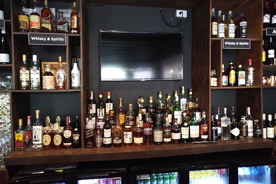 Our ever growing selection of spirits.