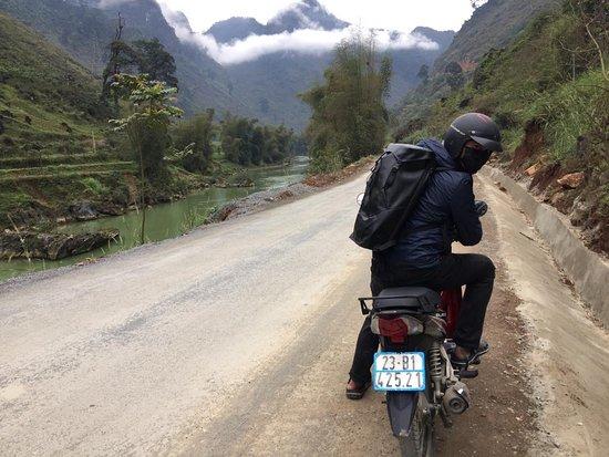 Ha Giang Province, Vijetnam: Ha Giang Loop check point.