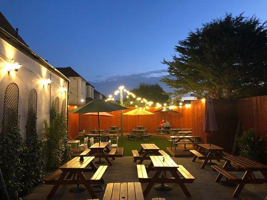 Our Beer Garden.
