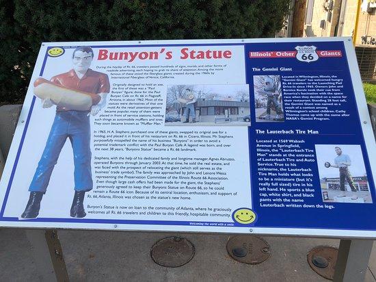 Paul Bunyon Statue: Historia del gigante