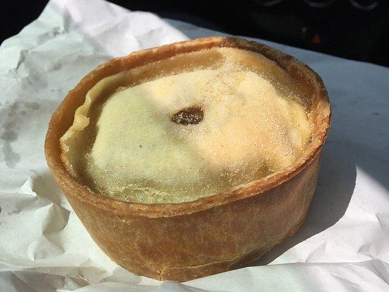 Blackwaterfoot, UK: Pie as you'll see