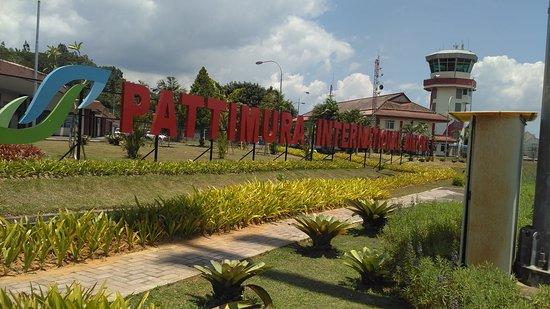Pattimura airport ambon maluku