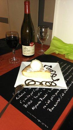 Aux Saveurs de Chez Judite: Gâteau portugais & sa boule de glace vanille