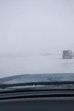 Kfardebian, Libanon: Heavy snow