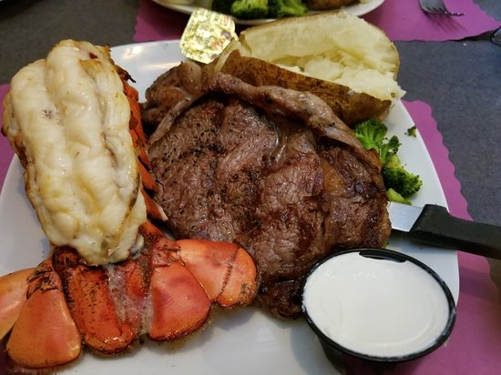Gifford, PA: Delmonico and Lobster Tail....delish!