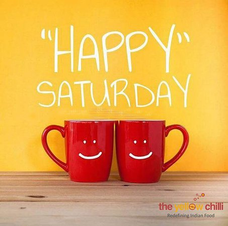 """It's #Saturday! Relax and recharge."""