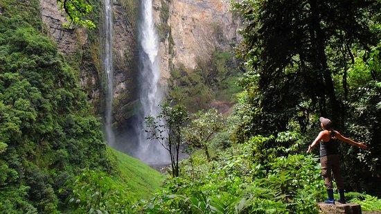 Catarata de Gocta maravilla natural
