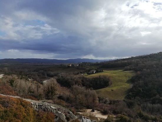 Parco dei Mulini : トスカーナのパノラマ