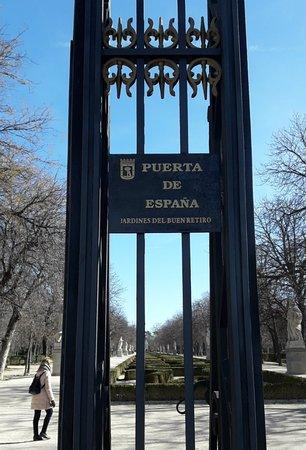 Puerta España: acesso