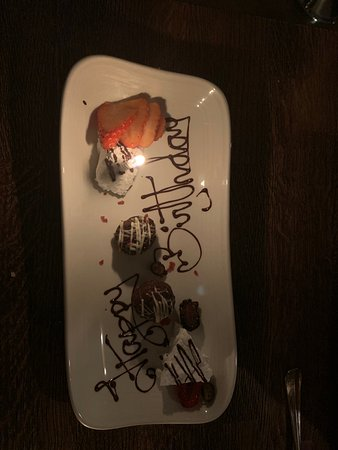 On the house birthday plate