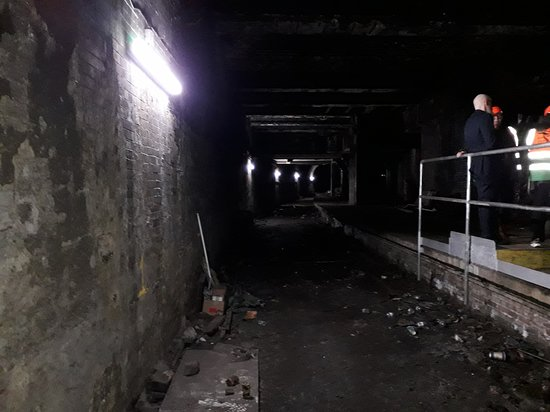 Glasgow Central Tours: Victorian tunnel and platform